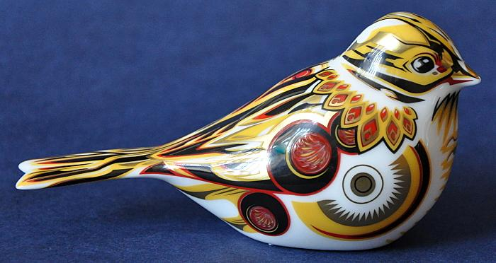 Royal Crown Derby Yellowhammer