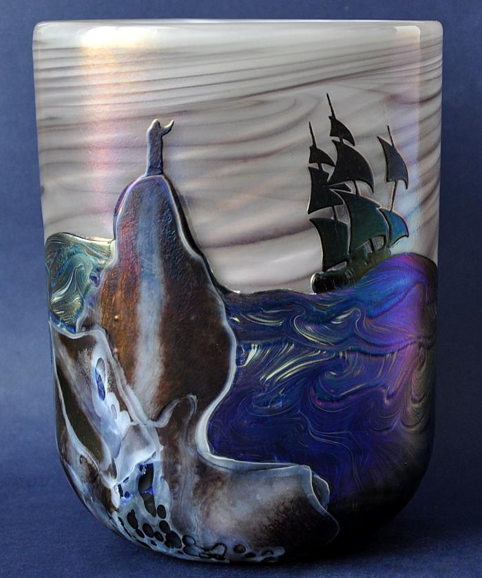 The Tempest Vase No3 by Richard Golding Station Glass
